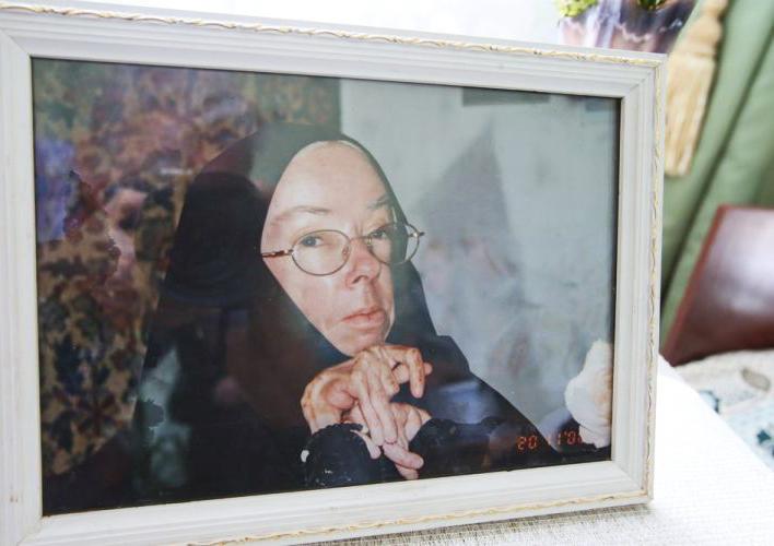 Прижизненная фотография матушки Рафаилы
