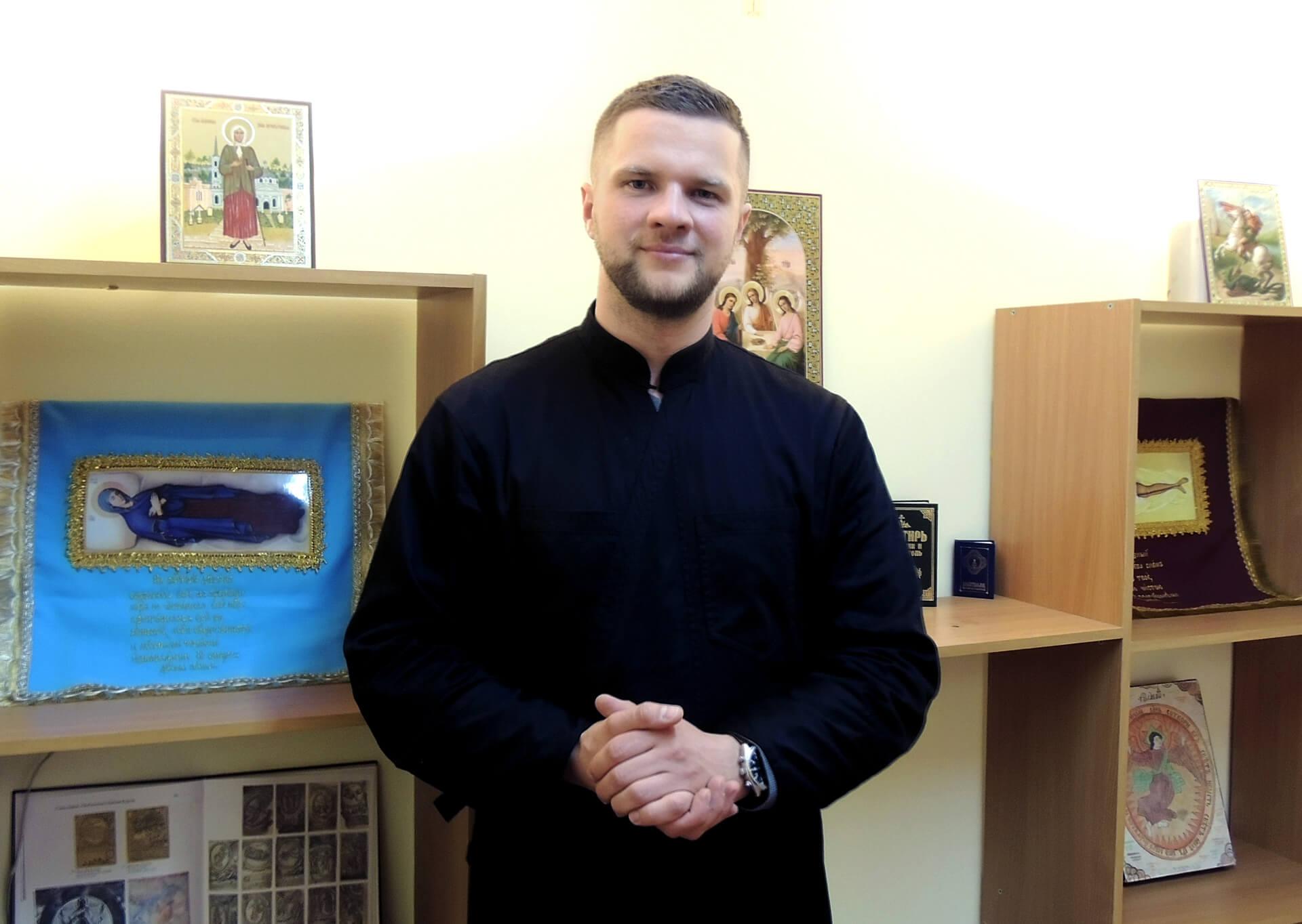 В паломнической службе Бобруйской епархии, 2017 год.